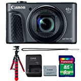 Canon Powershot SX730 HS Digital Camera (Black) with Accessory Kit For Sale