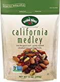 Second Nature California Medley Trail Mix – Healthy Nuts Snacks, Blend of Almonds, Raisins, Dried Cranberries & Pistachios – Sodium Free, Gluten Free, Non GMO, 12 oz Resealable Pouch