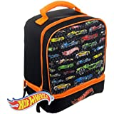 Hot Wheels Dual Compartment Lunch Bag