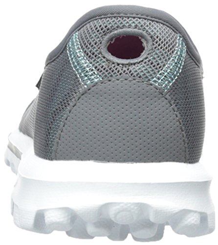 Skechers Rendimiento Go Walk Extracto Caminar Resbalón-en el zapato Charcoal/Blue