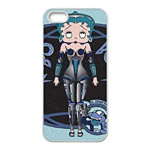 iPhone 5 5s Cell Phone Case White Robo Boop LSO7916091