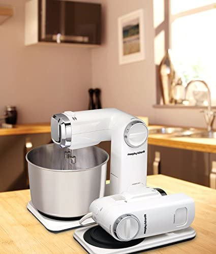 Morphy Richards White Folding Stand Mixer
