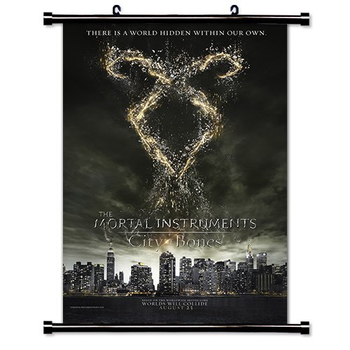 The Mortal Instruments City of Bones Movie 2013 Fabric Wall Scroll Poster (16