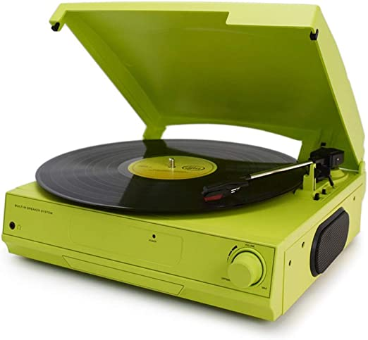 AF Reproductor de Discos de Vinilo 33/45/78 RPM Reproductor de ...