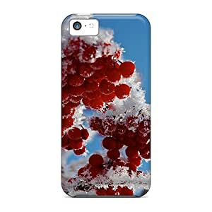 Durable Defender Case For Iphone 5c Tpu Cover(frosted Fruit Rowan)