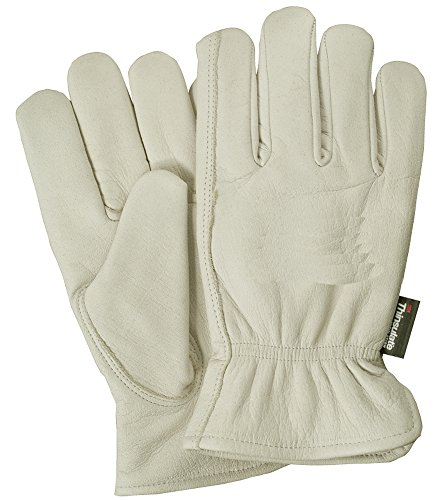 - Illinois Glove Company 41LB Buffalo Grain 3M Thinsulate Lined Glove, L, Palomino