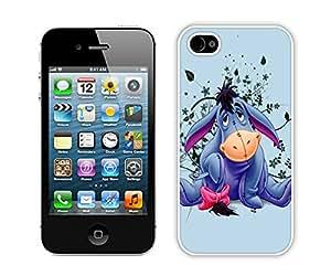 Eeyore White Fantastic Style Design iPhone 4S Case