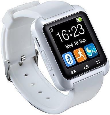 Savfy – U8 SmartWatch Bluetooth Smart reloj de pulsera de silicona ...