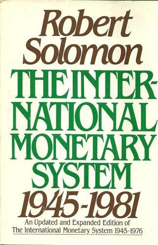 (The International Monetary System,)