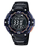 Casio SGW100-2B Twin Sensor Digital compass/Thermometer Watch