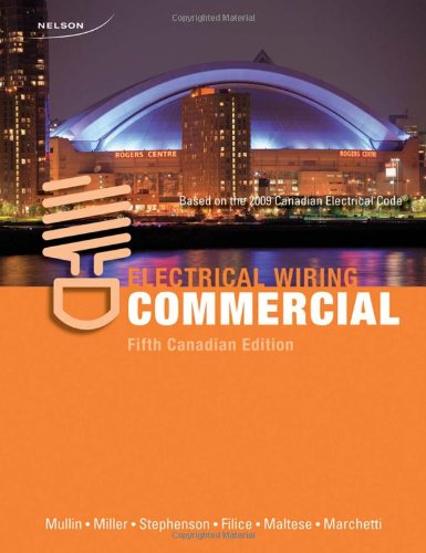 Terrific Electrical Wiring Commercial 5Th Canadian Edition 9780176502164 Wiring 101 Akebwellnesstrialsorg