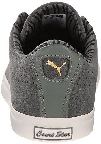 Puma Heren Rechterster Vulc Citi Serie Fashion Sneakers Castoro Grijs