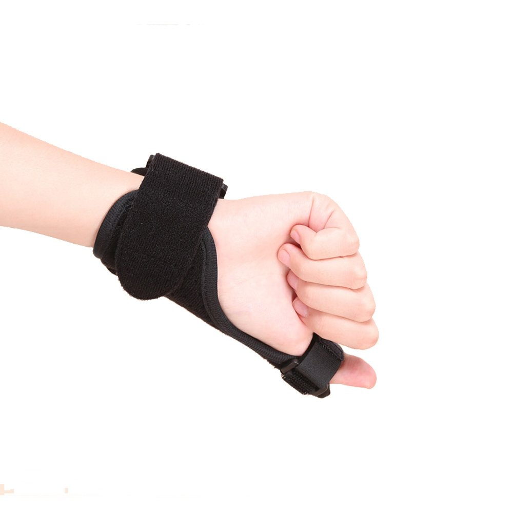 Thumb Splint Kitchenhoney Breathable Finger Spica Wrist Support Brace for De Quervains Tenosynovitis, Arthritis, Tendonitis, Trigger Thumb Immobilizer Fits Men Women Left and Right Hand by kitchenhoney (Image #6)