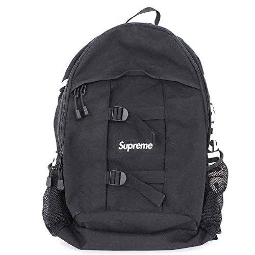 (シュプリーム) SUPREME 【14SS】【Logo Backpack】ボックスロゴリュック(ブラック) 中古 B07DXRGW99