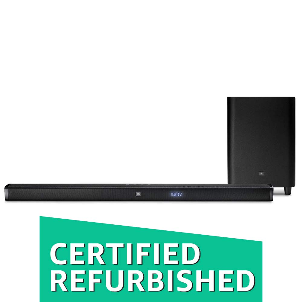(CERTIFIED REFURBISHED) JBL 3.1 Sound Bar with Wireless