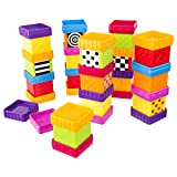 Baby : Sassy Deluxe 40 Piece Build and Discover Block Set