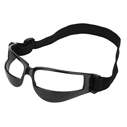 682c1c695ab9 Basketball Goggles Sports Dribble Goggles - Head-up Basketball Soccer Training  Glasses Specs Practical Basketball Training Aid Black - - Amazon.com