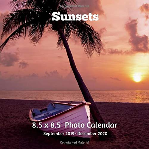 Christian December Calendar 2020 Sunsets 8.5 X 8.5 Calendar September 2019  December 2020: Monthly