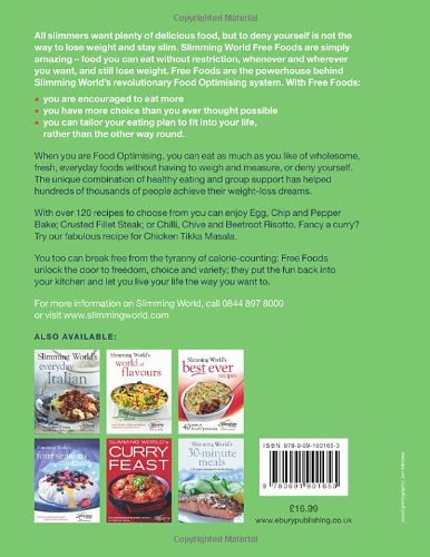 Slimming World Free Foods 120 Guilt Free Recipes For Healthy