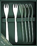 Sori Yanagi Cake fork set point # 6 1250 CF-6PC (Japan Import)