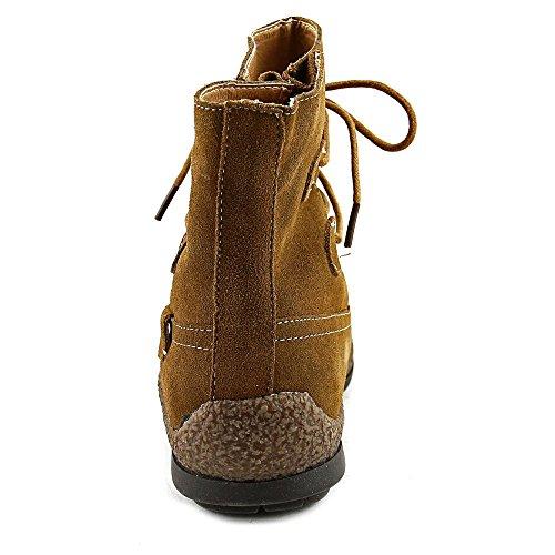 Fashion Kiara Toe Womens Boots Ankle Closed Wanderlust Suede Tan Y6v5wnq