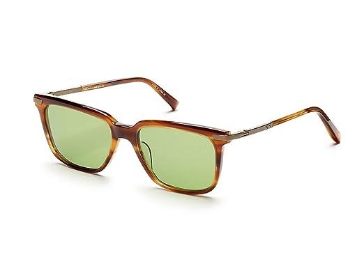 ff5b99f04b1 Amazon.com  Dita Cooper Sunglasses - Amber   18K Gold  Clothing