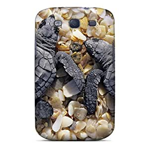 Slim Fit Tpu Protector Shock Absorbent Bumper Baby Turtles Case For Galaxy S3