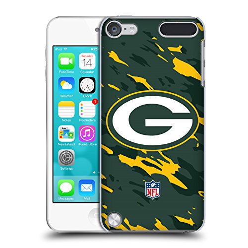 Price comparison product image Official NFL Camou Green Bay Packers Logo Hard Back Case for iPod Touch 5th Gen / 6th Gen