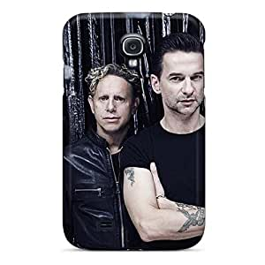 Shock Absorbent Hard Phone Covers For Samsung Galaxy S4 (NDR15777fiew) Custom High-definition Depeche Mode Band Series