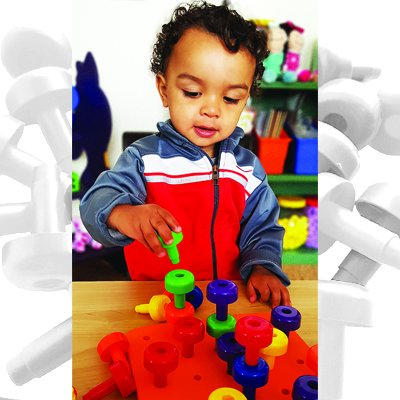 102pc Educational Toys: Lacing Beads Skoolzy Montessori Toys for Toddlers Occupational Therapy Matching Lacing /& Stacking Fine Motor Skills Kit Jumbo Nuts and Bolts /& PEG Board Set