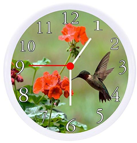 (Rusch Inc. Hummingbird Wall Clock)