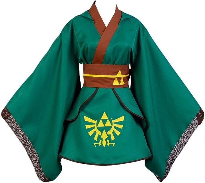 Capa para disfraz cosplay de Link Leyenda de Zelda
