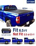 Tyger Auto TG-BC3T1033 TRI-FOLD Truck Bed Tonneau Cover 2007-2013 Toyota Tundra | Fleetside 6.5' Bed | For models with or without the Deckrail System