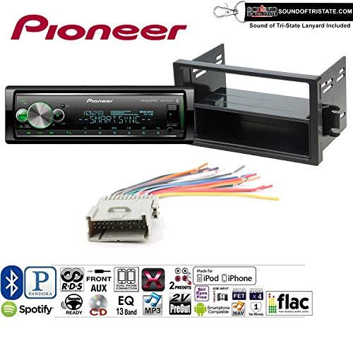 Pioneer MVHS512BS Radio Install Kit with Bluetooth, USB/AUX Fits 2000-2003 Saturn S/L Series