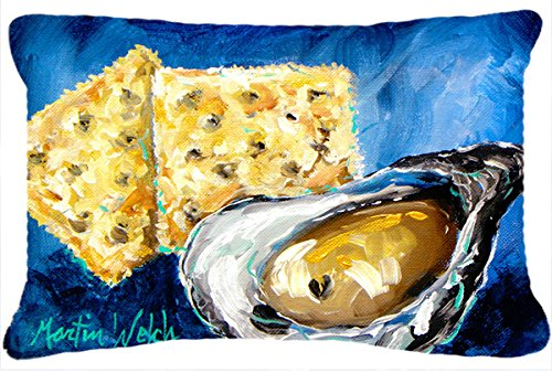 Caroline's Treasures MW1089PW1216 Oysters Two Crackers Ca...