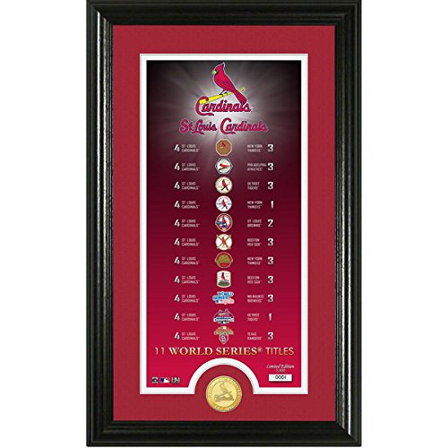 MLB St. Louis Cardinals Legacy Supreme Bronze Coin Photo Mint, 24