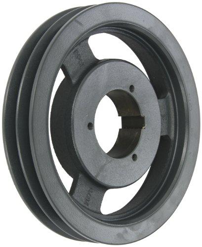 Browning 2B5V90 Split Taper Sheave, Cast Iron, 2 Groove, A, B or 5V Belt, Uses B Bushing -
