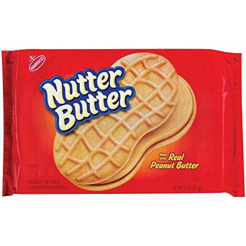 Nutter Butter Peanut Butter Sandwich