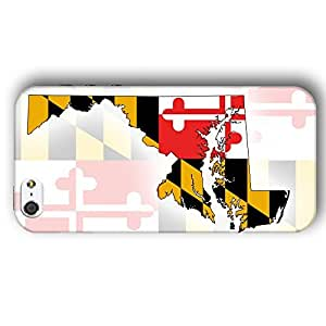 Maryland USA State Flag iPhone 5 and iPhone 5s Slim Phone Case