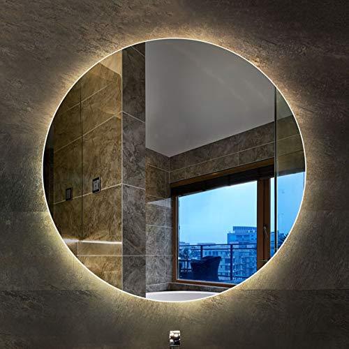 Flashing Store Smart Bathroom Mirror Backlit Mirror Round LED Light Mirror Wall -