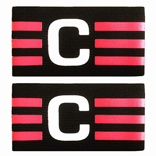 MAYFOO Soccer Captains Armband - Captain Arm Bands Wristband for Youth and Adult,Kids - Adjustable Captains Armband