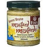 Eden Foods Brown Mustard, Organic Glass jar, 0.253 L