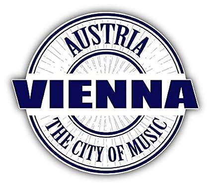 Amazon Vienna City Of Music Austria Stamp Home Decal Vinyl