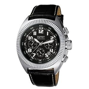[Amazon] Esprit Herren Armbanduhr MOMENTUM BLACK A.ES900491001 für 70,99€ (Vergleich: 92€)