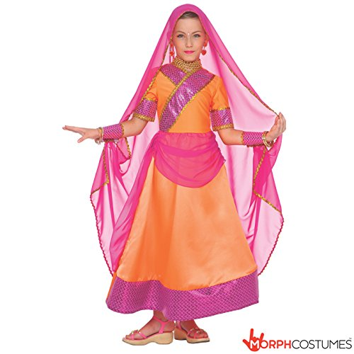 Bollywood Costume Halloween (Girls Indian Bollywood Hindi Costume)