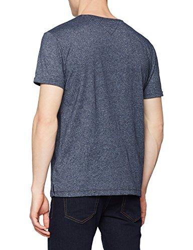 Tjm jeans Uomo Tee 002 Blu T Tommy black Jaspe Modern Iris shirt qAdwSndH5x