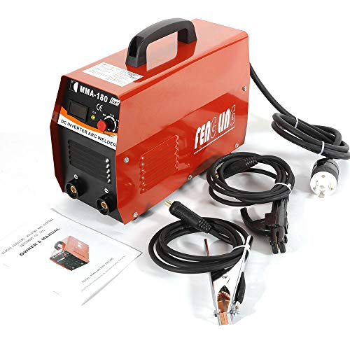 Welder Inverter 20-180A MMA Handheld Electric ARC Welding Welder Machine Tool, Portable ARC Welder Inverter Equipment Tool Kits US Plug AC 110/220V from MONIPA