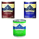 Blue Buffalo Homestyle Recipe Canned Dog Food Pack 12.5 oz x 12 cans – Lamb Dinner, Chicken Dinner and Beef Dinner For Sale