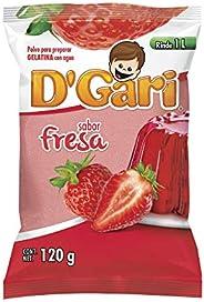 Dgari Dgari Gelat Fresa de 120 Gr, Fresa, 120 Gramos