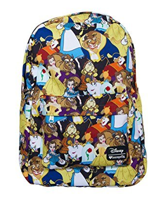 cd58d0cde8c Loungefly Disney Beauty and the Beast Belle Character Girls  Laptop Backpack   Amazon.ca  Luggage   Bags
